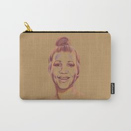 The Queen of Soul Carry-All Pouch