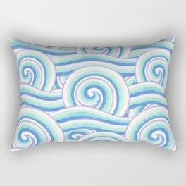 Auspicious Waves Rectangular Pillow