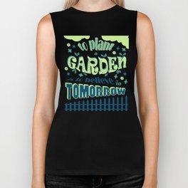 Plant a Garden Ver.1 #society6 #decor #buyart Biker Tank