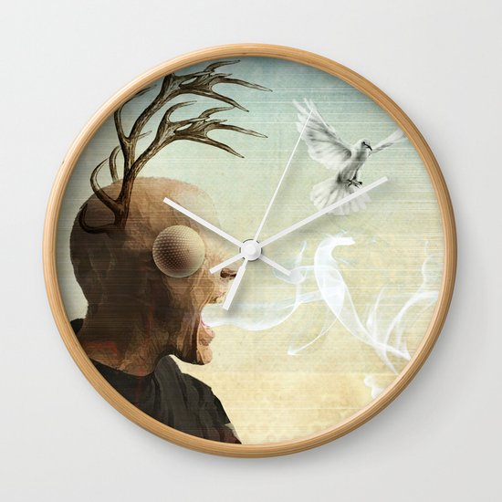 polarity of odds Wall Clock