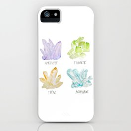 Rock collector iPhone Case