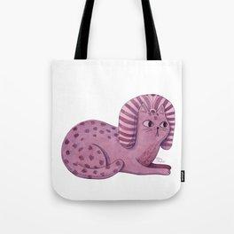 Purple Sphynx Tote Bag