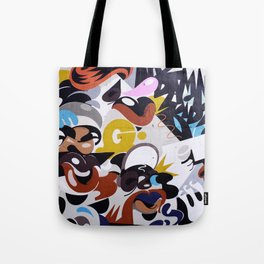 Street Art 1 Tote Bag