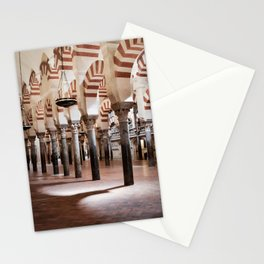 Infinite Pillars (Mosque-Cathedral of Cordoba) Stationery Cards