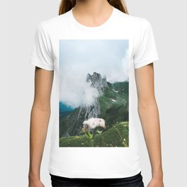 Flower Mountain in Switzerland - Landscape Photography T-shirt