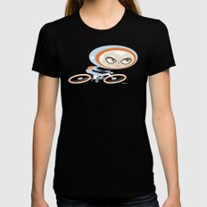 Helios Black SMALL Womens Fitted Tee