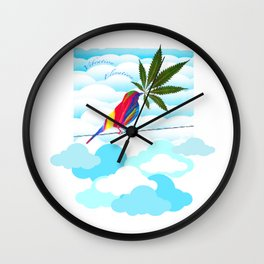 Elevate Your Vibe Wall Clock