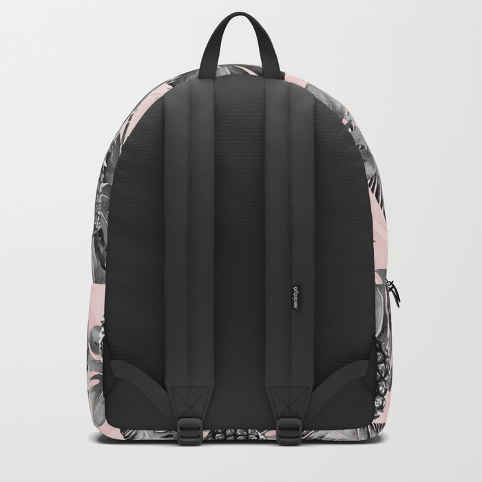 Leaves and pineapples pattern Backpack
