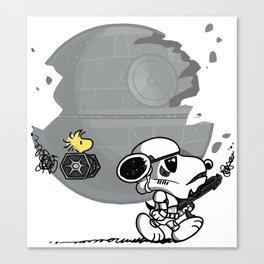 Snooptrooper Canvas Print
