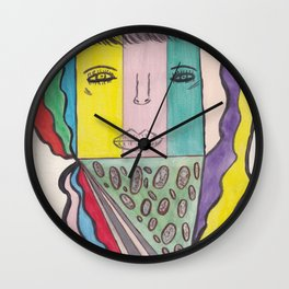 I Love Pizza But Is It Kosher Pizza Wall Clock