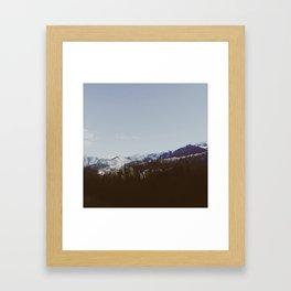 Winter in the Uintas Framed Art Print