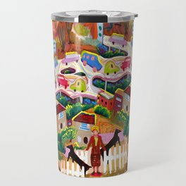 Ambos Nogales (Square) Travel Mug