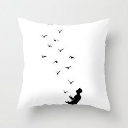Set Free #society6 #decor #buyart Throw Pillow