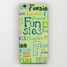 Funsies, 2 iPhone & iPod Skin