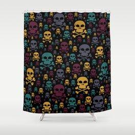 Skulls Shower Curtain