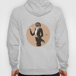 Animal Fashion: S is for Sloth in a smoking. Hoody