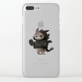 baymax like as toothless Clear iPhone Case
