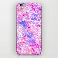 Feminine Folk Floral iPhone Skin