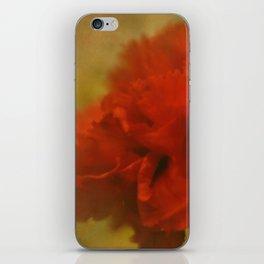 Carnation Romance iPhone Skin