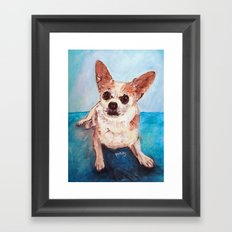 Paco Framed Art Print