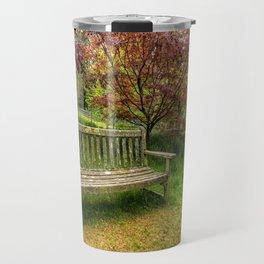 Garden Bench Travel Mug