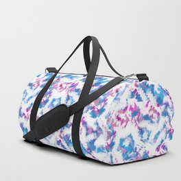 Abstraction . Colorful brush strokes. Duffle Bag