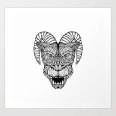 Gargoyled Art Print