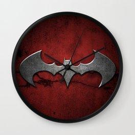 BAT MAN LOGO Wall Clock