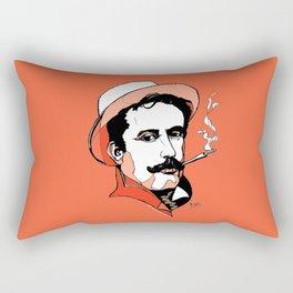 Composer Giacomo Puccini Italian Opera Ballet Madame Butterfly Turandot Tosca La Boheme Italy Art Rectangular Pillow