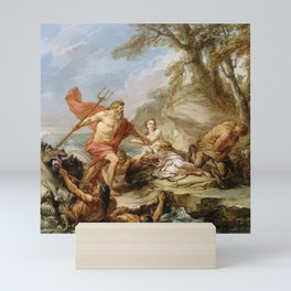 Charles-Andre van Loo - Neptune and Amymone Mini Art Print