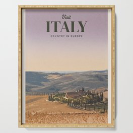 Visit Italy Serving Tray