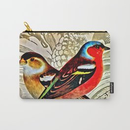 BRIGHT BIRDIES Carry-All Pouch