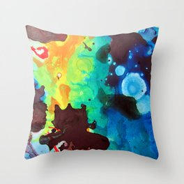 Piece Of The Big Picture Throw Pillow