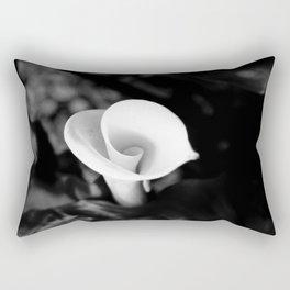 Cala Lilly Spiral Flower Rectangular Pillow