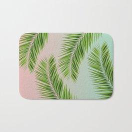 palm leaves Bath Mat