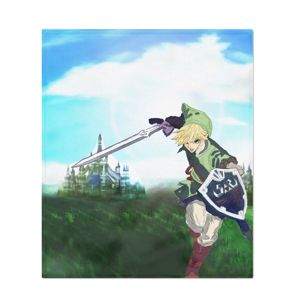 Link_Throw_Blanket_by_thelivelyskeleton