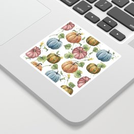 PUMPKINS WATERCOLOR Sticker
