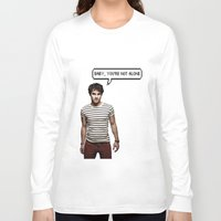 darren criss Long Sleeve T-shirts featuring Darren Criss  by Hannah