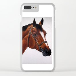 Warmblood Clear iPhone Case
