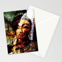 """""""The River of Creativity Runs Through Her"""" Stationery Cards"""