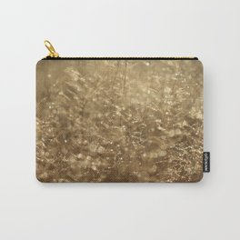Diamonds and Gold Carry-All Pouch