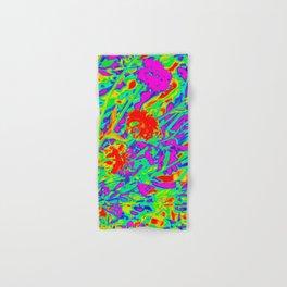 Psychedelic flower garden Hand & Bath Towel