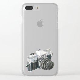 35mm film camera Clear iPhone Case