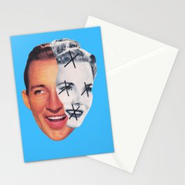 He Looks So Righteous While Your Face is So Changed Stationery Cards