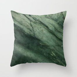Pounamu wave Throw Pillow