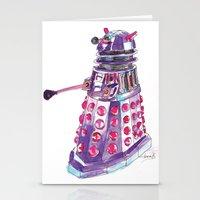 dalek Stationery Cards featuring Dalek by BlueAcorn