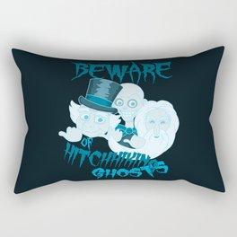 Beware of Hitchhiking Ghosts Rectangular Pillow