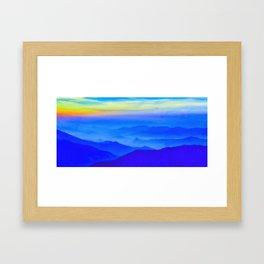 Nepal Sunrise Framed Art Print