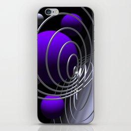 go violet -07- iPhone Skin