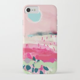 spring dream landscape iPhone Case